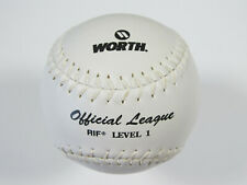 "Worth Official League Softball Rif Level 1 Poly-X Core 12"" White Sr12Ws New"