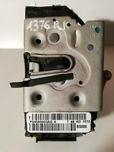 11-16 DODGE GRAND CARAVAN FRONT LEFT DRIVER DOOR LOCK LATCH ACTUATOR 4589693AD