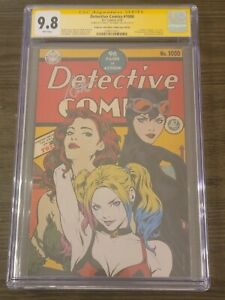 DETECTIVE COMICS #1000 ARTGERM COLLECTIBLES GOLDEN AGE VARIANT CGC 9.8 SIGNED SS