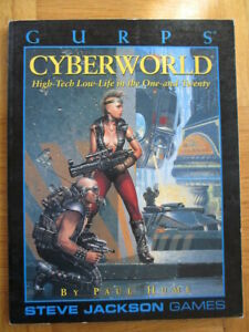 Gurps – Cyberworld - Englisch - Steve Jackson Games