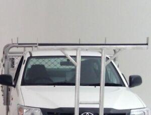 Ladder Rack Rubber 3M Self Adhesive Alloy Steel Tray Tradie Toyota - Per Metre