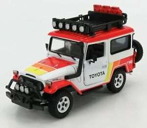 1/24 MOTOR-MAX - TOYOTA - FJ40 LAND CRUISER HARD-TOP CLOSED OFF ROAD 79137TRD