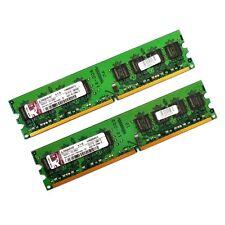 2x1GB Speicherriegel Kingston KVR800D2N5/1G PC2-6400 800 MHz RAM *mit Rechnung*