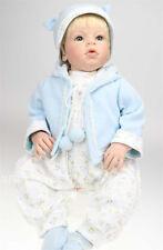 28'' Reborn Toddler Lifelike Baby Silicone Vinyl Boy Doll Reborn Toddler Doll