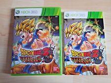 Dragon Ball Z Ultimate Tenkaichi Xbox 360 NEU in Folie mit Begleitheft