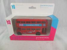 Corgi TY82319 2012 London Olympics AEC Routmaster Double Decker Bus scale 1:64