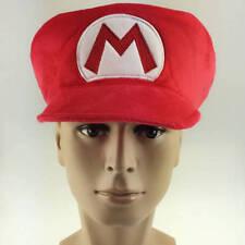 HOT Super Mario Bros.World Hat Cosplay Cap Nintendo cute kids favor Gifts Unisex