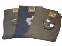 wampum pantaloni jeans da uomo elasticizzati taglie forti invernali blu 58 60 68