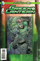 Futures End Green Lantern #1 3D Cover Unread New Near Mint New 52 DC 2014 LBX3