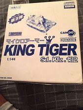 Rare Dragon Models Hobby Box Can.Do 1/144 Case Of 15 King Tiger 14 + Secret Item