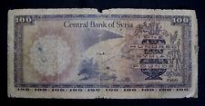 Syria 100 Pounds 1966