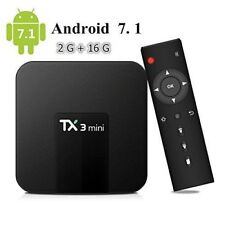Android 3D TV Box WIFI Smart Home Media Mini Player HD 4K 1080P 2G RAM+16G ROM