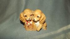 1988 Home Interior Homco Masterpiece Porcelain Cocker Spaniel Dog Figurine