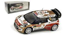 Spark S3788 Citroen DS3 WRC 3rd Monte Carlo Rally 2014 - Kris Meeke 1/43 Scale