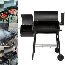 Outdoor BBQ Grill Charcoal Barbecue Pit Patio Backyard Meat Cooker Smoker