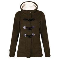 Outwear Women Winter Warm Faux Fur Parka Jacket Hooded Coat Windproof
