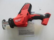 Milwaukee M18 18V 18 Volt Li-Ion Cordless Reciprocating Hackzall 2625-20 New