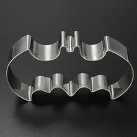 2X Bat Man Cutter Cake Pastry Biscuit Cookie Mold Baking Fondant Mould .Miy