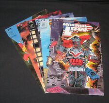 Marshal Law lot of 5 copper age Epic comics, 1987-88 #1-5