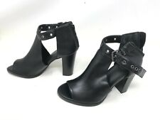 Womens Simply vera (160089) Staring black High Heel Ankle Boots (420E)