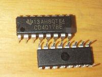 50Pcs CD4017 CD4017BE 4017 DIP-16 DECADE COUNTER DIVIDER IC