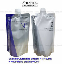Shiseido Crystallizing Straightener Perm Natural Hair N1 + 2 FREE Post tracking