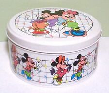 Disney's Mickey and Minnie Mouse Low Round Tin