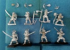 8 Dragon? Phoenix? Talons Figures —Clan War L5R Legend of the Five Rings samurai