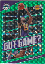 GOT GAME? Green Prizm Mosaic Panini 2019-20 Cards