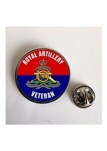 Royal Artillery Veteran Military lapel pin badge / Key Ring