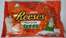 NEW CHRISTMAS REESE'S PEANUT BUTTER WHITE TREES FREE WORLDWIDE SHIPPING