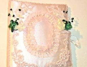 Wedding guest book and pen set with photo album