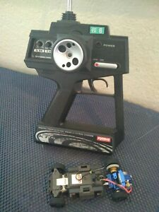 KYOSHO Mini Z MS-1 chassis with Perfex KT-5 transmitter USED with upgrades