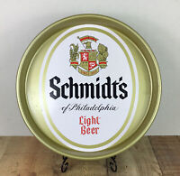 Vintage Schmidt's Of Philadelphia Light Beer & Ale Serving Tray 13 Inch