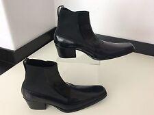 Haider ackermann noir bottes en cuir neuf taille 37.5 uk 4.5 bottines chelsea