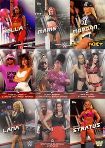 2016 Topps WWE Divas Revolution Wrestling Cards, Base & Inserts! U PICK