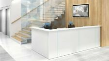 "Nova 131"" L-Shaped Reception Desk, Left Hand"