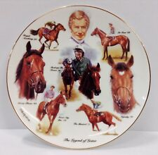 The Legend Of Lester Piggott British Racing Heritage Fine Bone China Plate