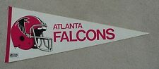OLD 1970's ATLANTA FALCONS Felt Full Size Pennant UNSOLD STOCK