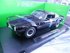 PONTIAC Firebird Trans AM 1972 V8 Muscle Car black schwarz US Welly 1:18
