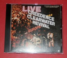 Creedence Clearwater Revival - Live in Europe -- CD / Rock