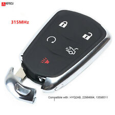 Smart Remote Key Fob Replacement for Cadillac ATS CTS SRX XTS Escalade HYQ2AB