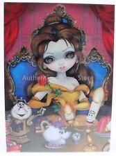 NEW Disney WonderGround Belle's Enchantment Jasmine Becket-Griffith 5x7 Postcard