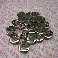 20 Metal Bobbins (GENUINE) Singer 401, 401A, 404, 500, 500A ,503, 503A,
