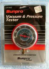 Sunpro Model Engine Vacuum And Pressure Tester Gauge New Sealed Cp7802