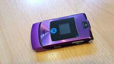 Motorola Razr v3i en purple/violet + Foliert + pliante portable + Sans Simlock * Topp *