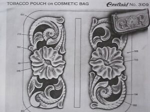 Vintage Craftaid #3109 for a Tobacco Pouch or Cosmetic Bag