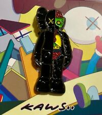 KAWS Companion Dissected Black Rare supreme enamel pin brooch lapel