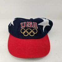 Vintage 90's 1996 Champion Team USA Olympics Hat Snapback Sports