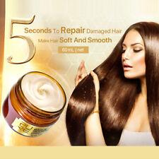 60ml Magical Keratin Hair Treatment Mask 5 Seconds Deep Repairs Damage Hair Mud